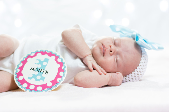 One Month Baby Pictures