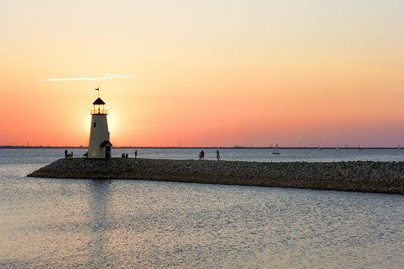 Lake Hefner Light House