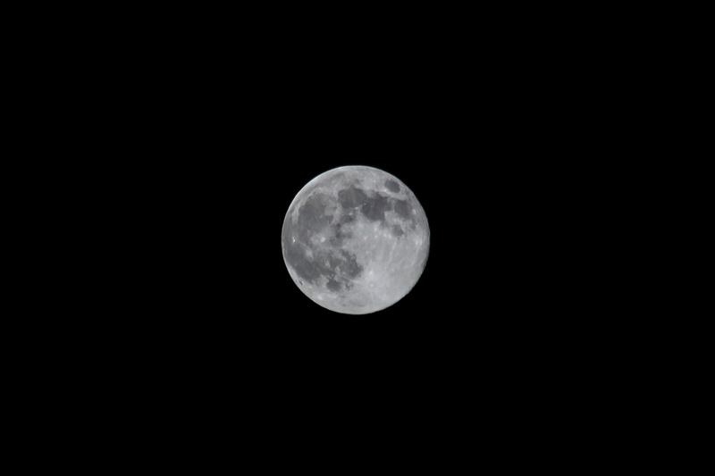"""Supermoon """"Super Moon"""""""